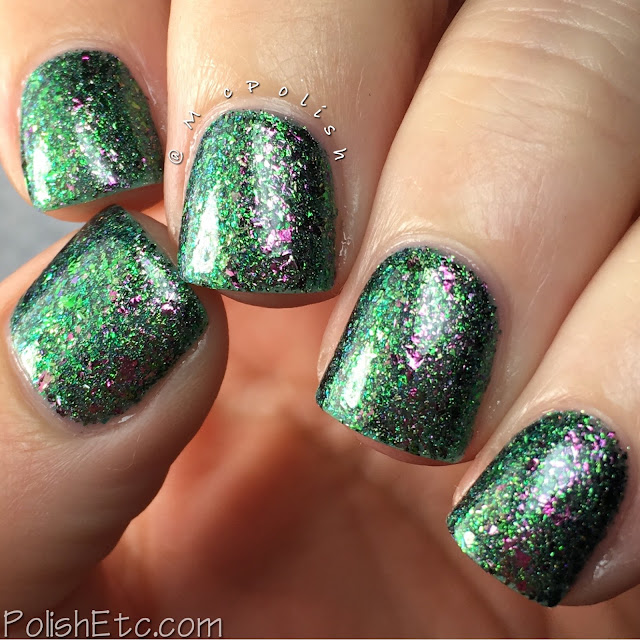 Top Shelf Lacquer - Holiday Flake Out Collection - McPolish - The Grinch