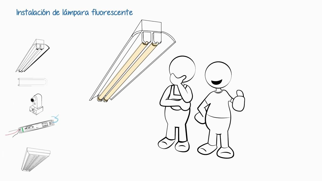 Instalaciones eléctricas residenciales - Probando lámparas fluorescentes