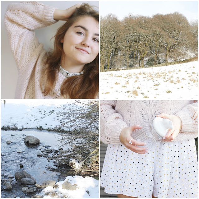 February girly pastel blog photo diary