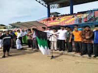 7000 Lebih Santri Kota Padang Ikuti Pawai Akbar di Puncak Hari Santri