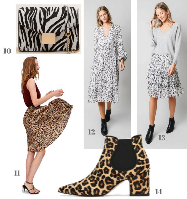 ropa y zapatos de nueva temporada estampadado animal print style tendencia escalares mujer zara