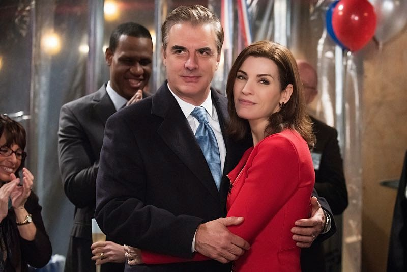 Alicia y Peter - The Good Wife S06E16. Red Meat