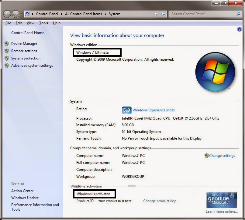 windows 7 loader virus