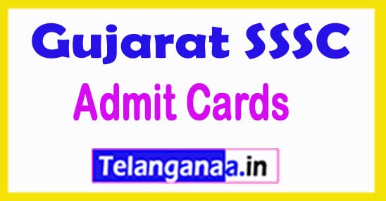 GSSSB Senior Clerk Admit Card 2018 Gujarat SSSC Head Clerk Accountant Social Welfare Inspector Admit Card