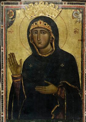 αντίγραφο του 13ου αιώνα της Παναγίας Αγιοσορίτισσας