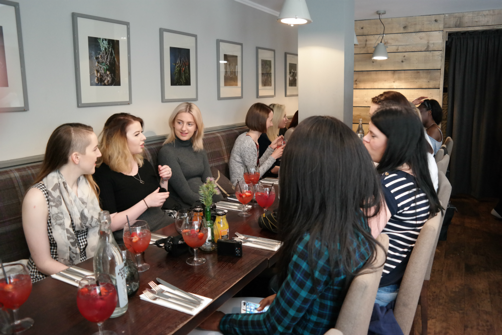 Adelphi Kitchen: Aberdeen Bloggers Meet Up