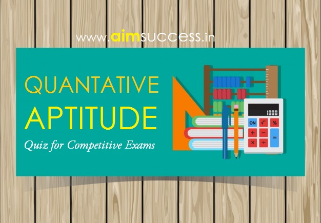 Quantitative Aptitude Quiz for SSC CHSL
