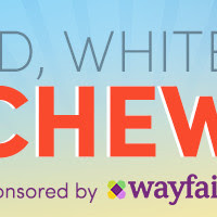 Red, White & Blue Cheesecake Salad - Wayfair Sponsored Post