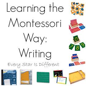 Learning the Montessori Way: Writing