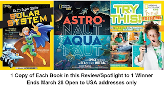 3 National Geographic Kids STEM books