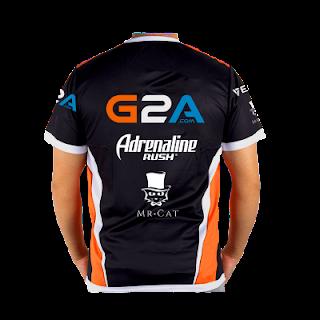 Jersey Virtus Pro 2017 - Baju Kaos Tshirt Gaming