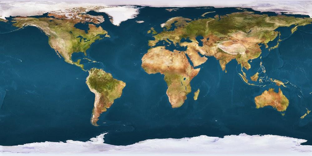 Cartografia e Escalas Geográficas