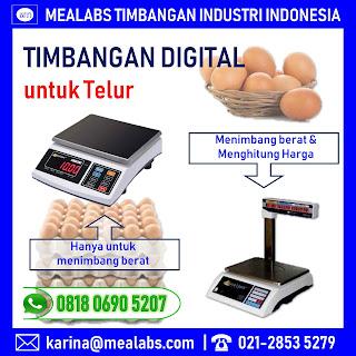 Timbangan Digital untuk Telur
