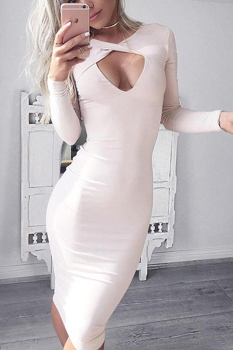 https://www.girlmerry.com/thick-long-sleeves-fashion-solid-open-elegant-midi-dress.html