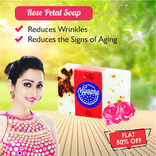 Niyaara Rose petals soap
