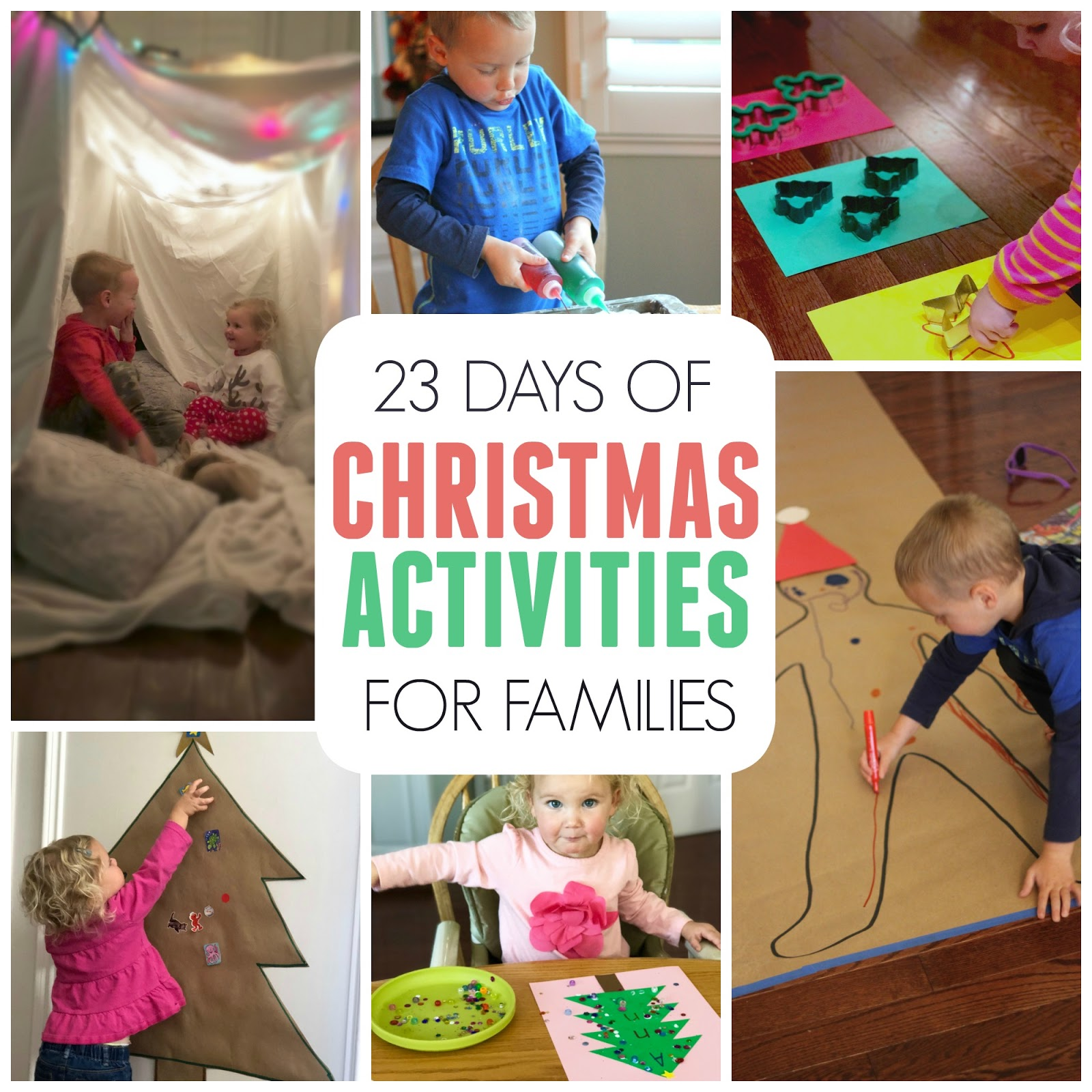 Toddler approved 23 days of christmas activities for for Christmas activities for families to do