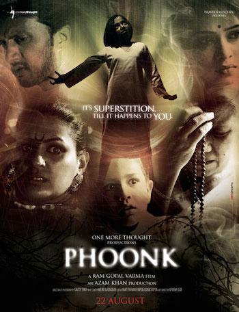 Phoonk 2008 Hindi DVDRip 480p 300mb