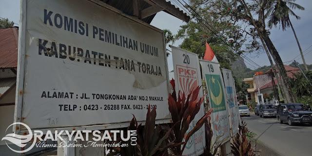 Sah! 310 Caleg Akan Bersaing Perebutkan 30 Kursi di DPRD Tana Toraja di 2019