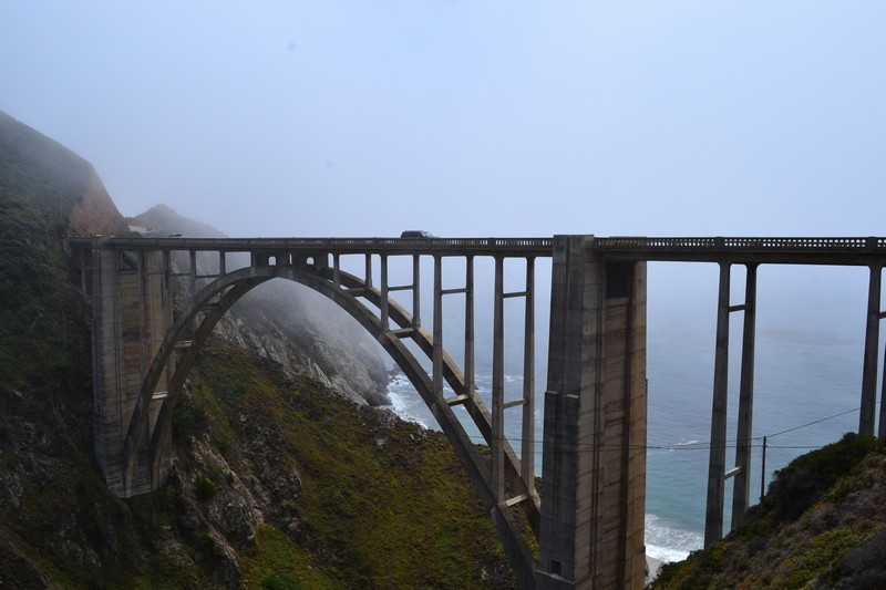 Cote, Californie, bixby bridge