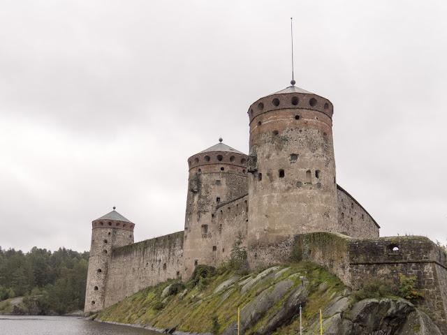 Finland roadtrip: Olavinlinna Castle in Savonlinna Finland