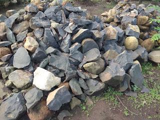 Bahan Batu Kali Asli
