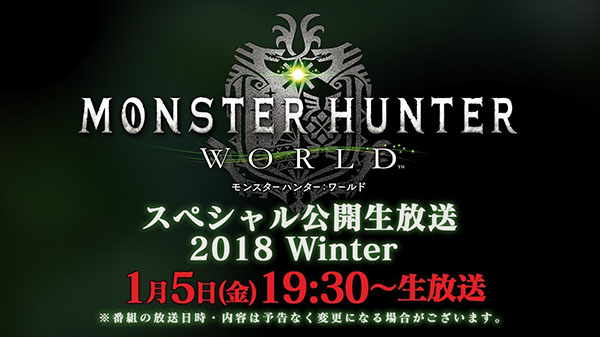 Se anuncia directo especial de Monster Hunter World