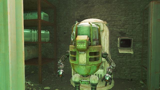 Fallout 4 Drinkin' Buddy Robot