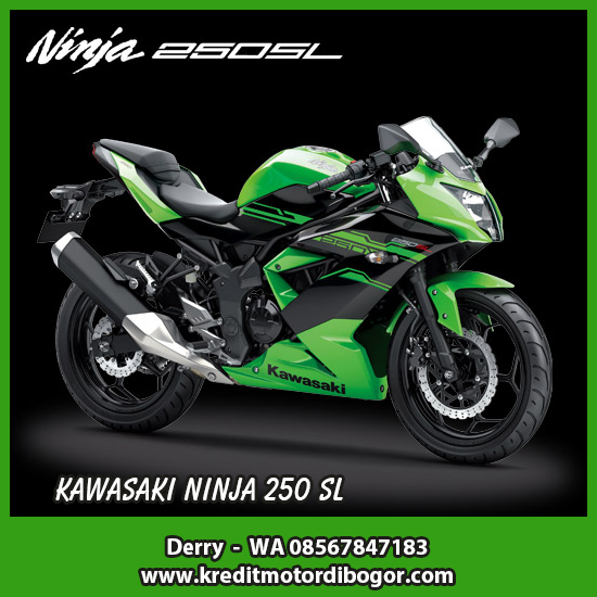 Kredit Motor Kawasaki Ninja 250 SL di Bogor