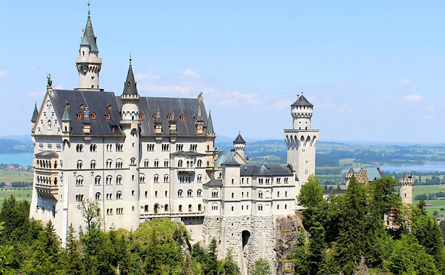 Castelo de Neuschwanstein em Munique