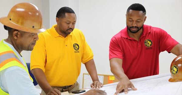 Jonathan and Jarrett Logan, founders of Castle Black Construction