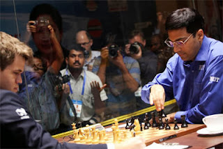 Echecs : Vishy Anand a stoppé l'hémorragie lors de la partie 7 - Photo © site officiel