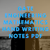 GATE Engineering Mathematics Hand Writing Notes Pdf