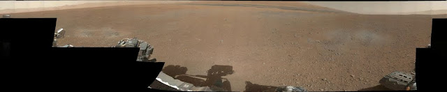марсоход Curiosity панорама