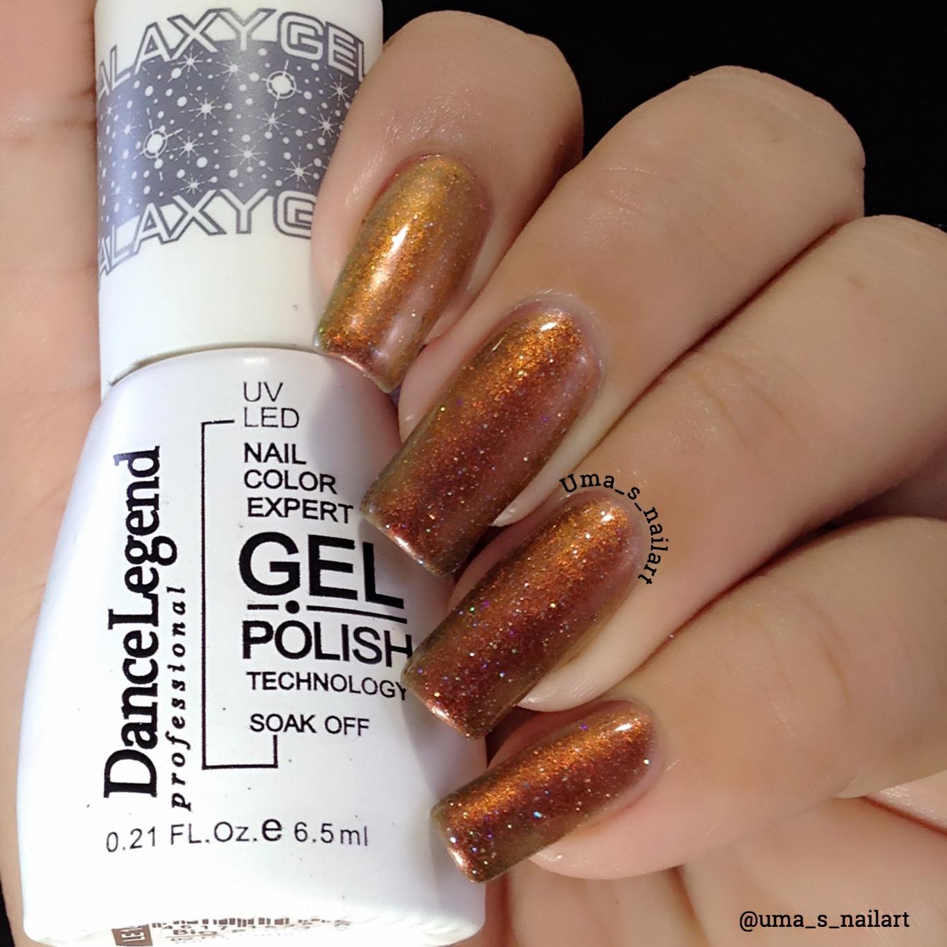 Gelaxy Gel Nail Polish: Uma's Nail Art: Dance Legend Galaxy Gel Polish Big Bang