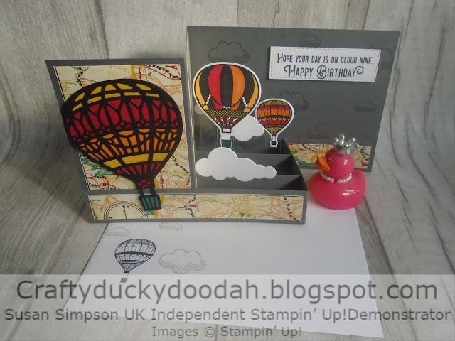 Craftyduckydoodah!, Stampin' Up! UK Independent  Demonstrator Susan Simpson, Lift Me Up, Up & Away Thinlets Dies, Supplies available 24/7 from my online store,