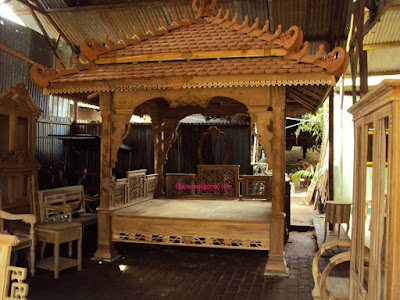 Solid Teak Gazebo For Home