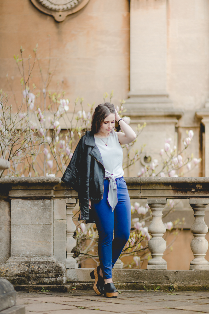 Blue Jean Baby spring summer fashion blogger outfit OOTD