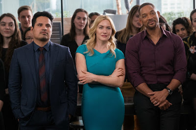 Kate Winslet, Michael Pena and Will Smith in Collateral Beauty (22)