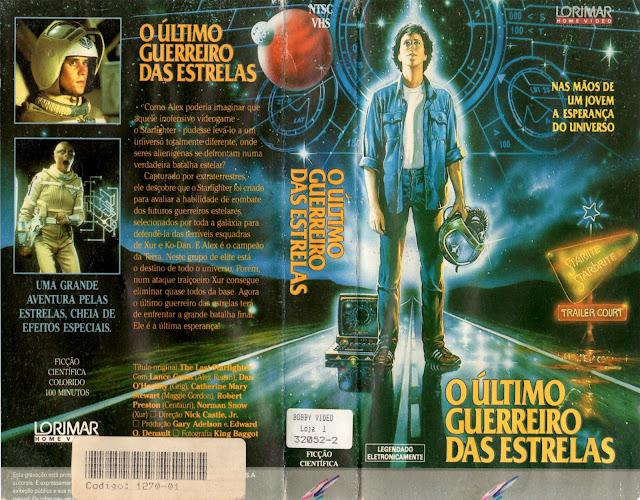 Resultado de imagem para O Último Guerreiro Das Estrelas 1984