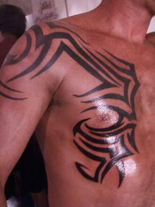 19 Chest Tattoos For Men Design Art