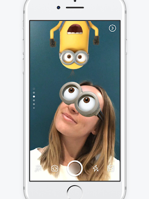 Snapchat Facebook launches Stories, camera effects