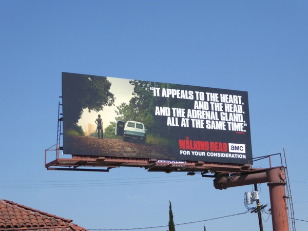 Walking Dead season 6 Emmy 2016 FYC billboard
