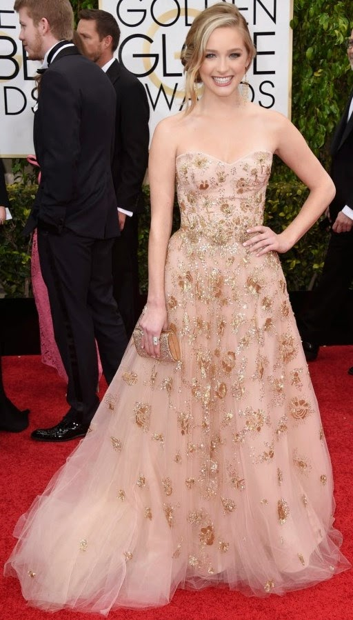 Greer Grammer at 72nd Golden Globe Awards