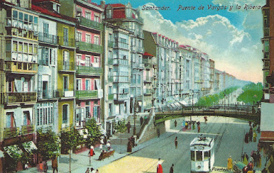 Santander. Puente de Vargas, la Ribera o Atarazanas.