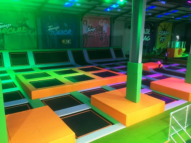 Be a Geordie Ninja Warrior at Jump 360 in Newcastle