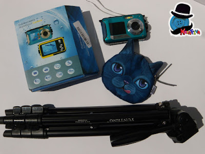 macchina fotografica 24MB impermeabili per 1 ora