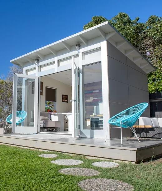 Prefab Pool House Guest Suite: Prefab Cabins, Sheds, Studios