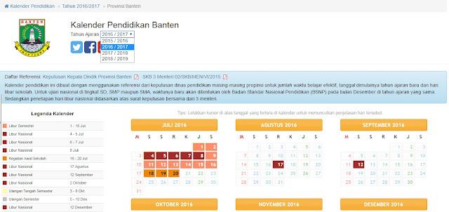 Cara Menentukan Kalender Pendidikan Online
