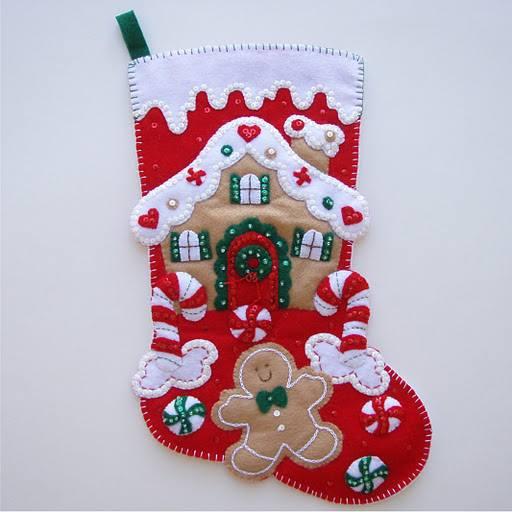 10 moldes para hacer bonitas botas navide as en fieltro