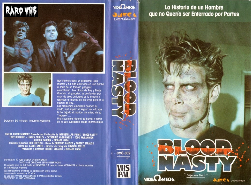 Blood Nasty - 1989 - Richard Gabai y Robert Strauss